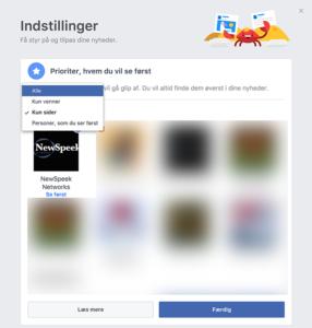 newspeek i facebook